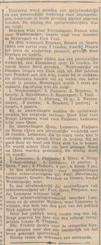 07 09-1931 uitslag