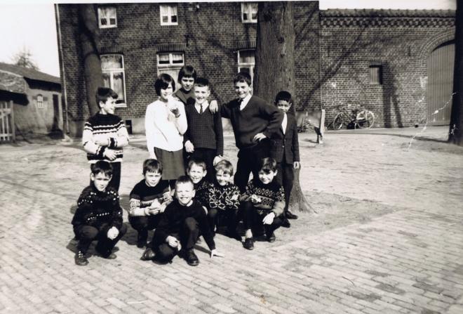 groepsfoto Guus Smeets wim jan lenie