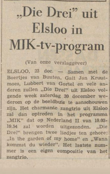 programma die drei 1967