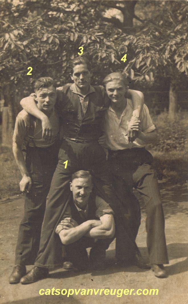 tjeu frederix tjeu lemmens huub perebooms louis huiveneers 1944