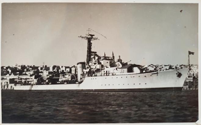 oorlogs schip Pie van es everts