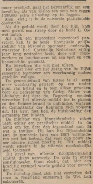 wet sabotage 1922