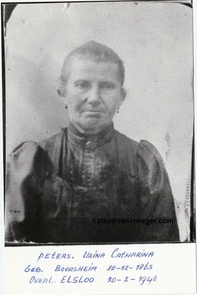 Urina Catharina Peters 1